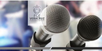 Conferencia de prensa a medios en Tuxpan