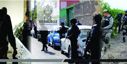 Rescatan UECS y Policía Ministerial a víctima de secuestro, enVeracruz