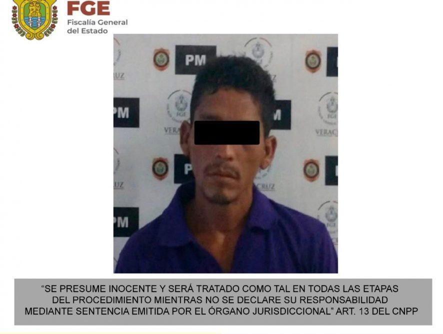 Detiene FGE a probable homicida en Veracruz