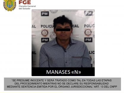 Detiene Fiscalía Regional Coatzacoalcos a probable feminicida