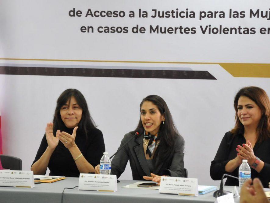 Reitera FGE compromiso en combate a feminicidios