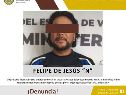 Vinculan a proceso a abusador sexual de una menor