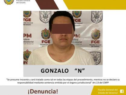 Detenido por robo agravado en Santiago Tuxtla