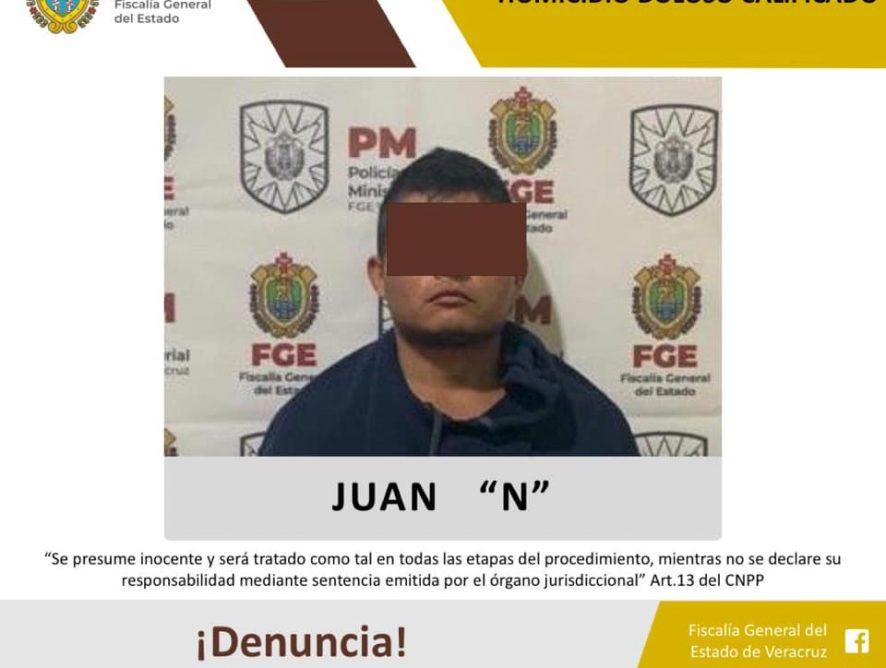 Juez lo vincula a proceso por homicidio doloso calificado en Coatepec