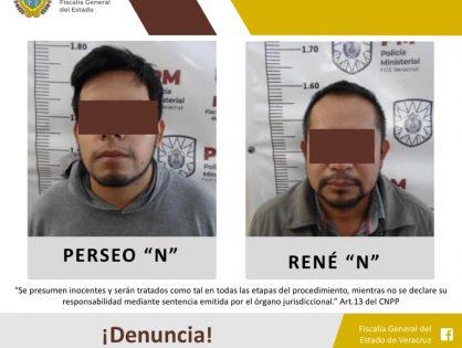 FGE logra vinculación de padre e hijo por probable feminicidio de joven xalapeña
