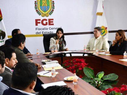 Verónica Hernández Giadáns encabezó la primer reunión de trabajo del año