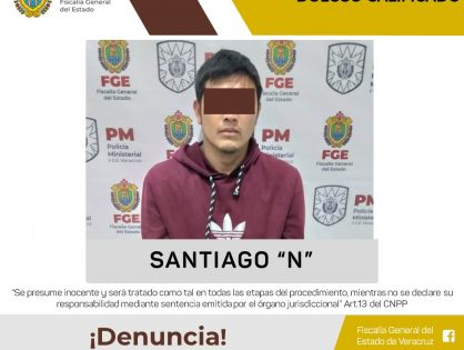 Detiene FGE a presunto homicida de médico en Córdoba