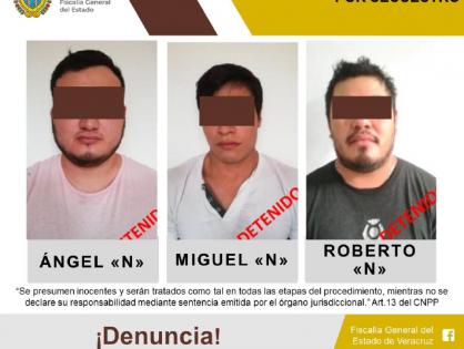 Libera UECS sana y salva a víctima de secuestro, detiene a tres probables secuestradores
