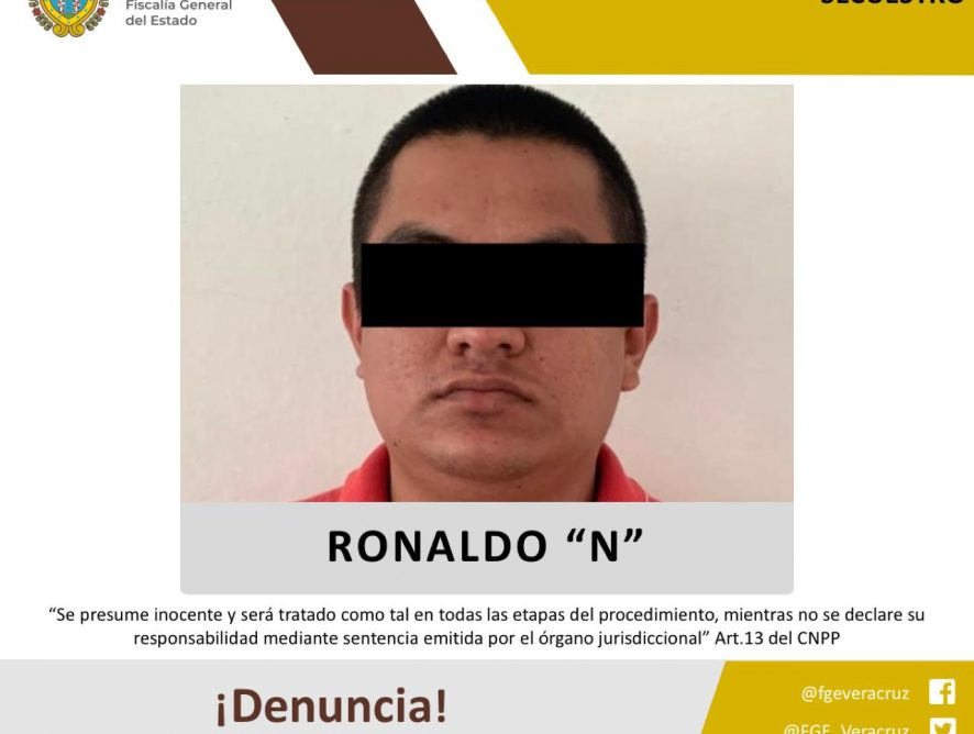 Vinculado a proceso por secuestro en Papantla
