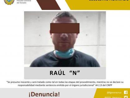 """Obtiene FGE vinculación a proceso de Raúl """"N"""" alias """"El 30"""" o """"La Cuija"""""""