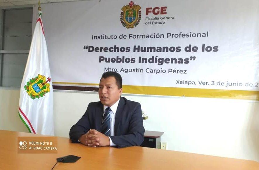 Desarrolla FGE curso virtual sobre Derechos Humanos de los Pueblos Indígenas