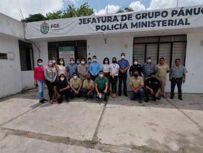 Supervisa Fiscal General acciones de atención e investigación en Pánuco y El Higo