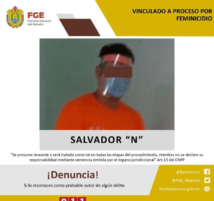 Vinculan a proceso a probable feminicida en Las Choapas