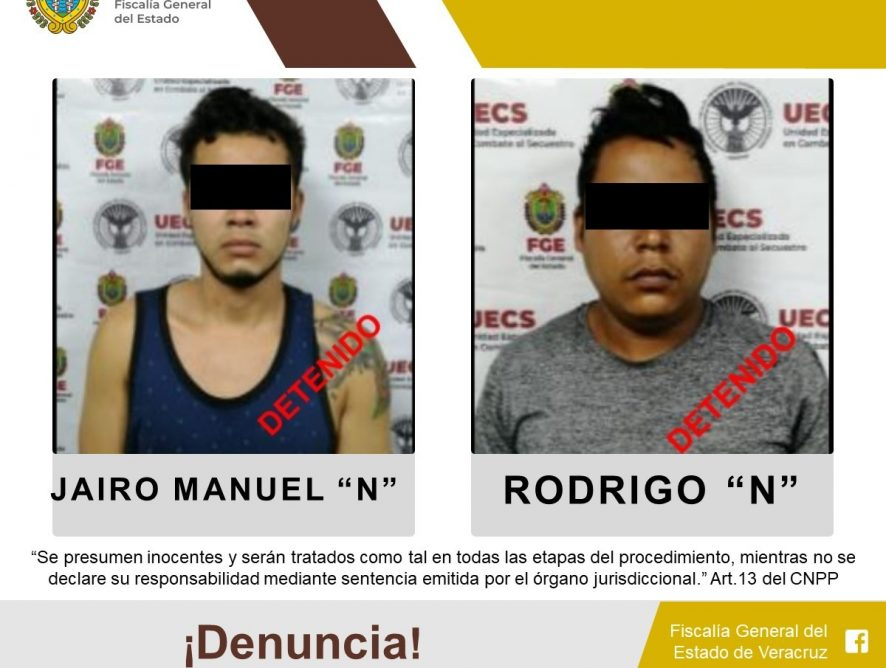UECS y Fuerza Civil rescatan a persona víctima de secuestro