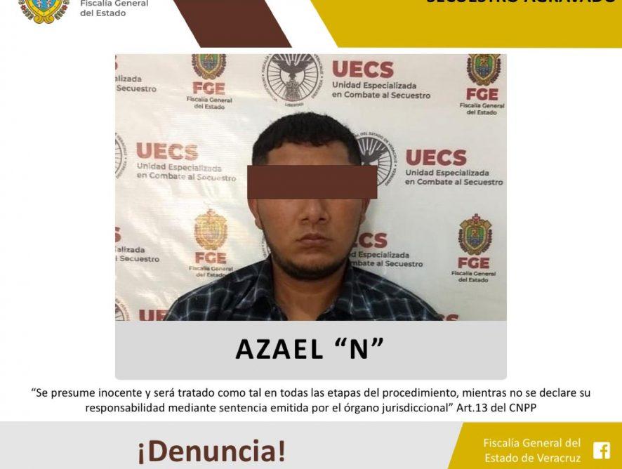 FGE captura y logra vinculación de presunto secuestrador