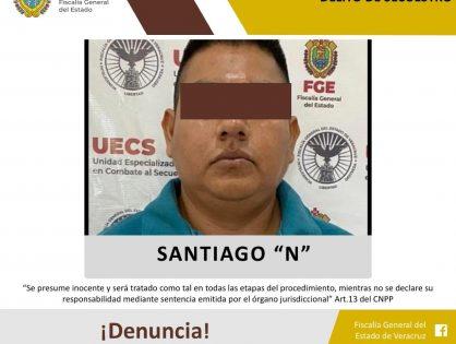 UECS detiene a secuestrador que era buscado en Chiapas