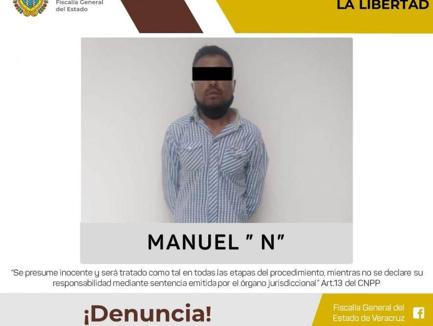 Detiene Policía Ministerial a hombre por privar de la libertad a una menor