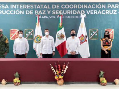 Mesa Interestatal de Coordinación para la Construcción de Paz y Seguridad Veracruz-Oaxaca