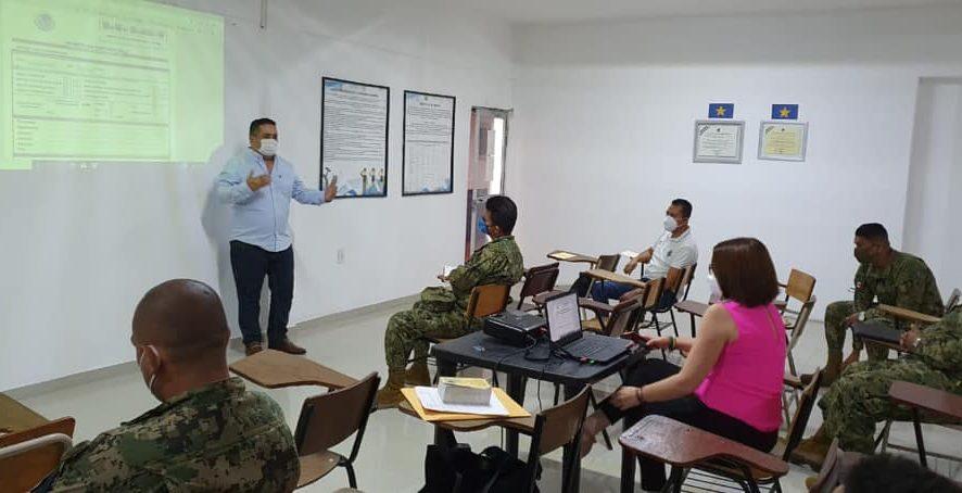 Capacita Fiscalía Regional Veracruz a Policía Naval en integración de Informe Policial Homologado