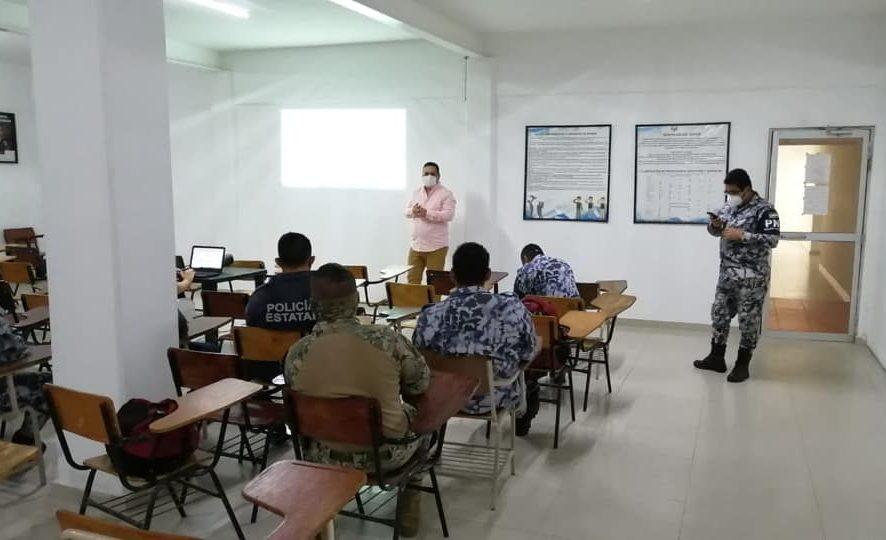 Sostiene Fiscalía Regional Veracruz mesa de trabajo con Policía Naval y Policía Estatal