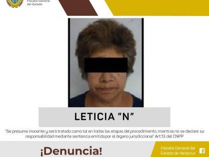Es detenida probable secuestradora en apoyo a Fiscalía de Ciudad de México