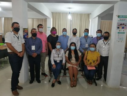 Verónica Hernández exhorta a trabajadores de Fiscalía a servir con ética y honestidad