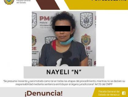 Dictan auto de formal prisión a presunta secuestradora