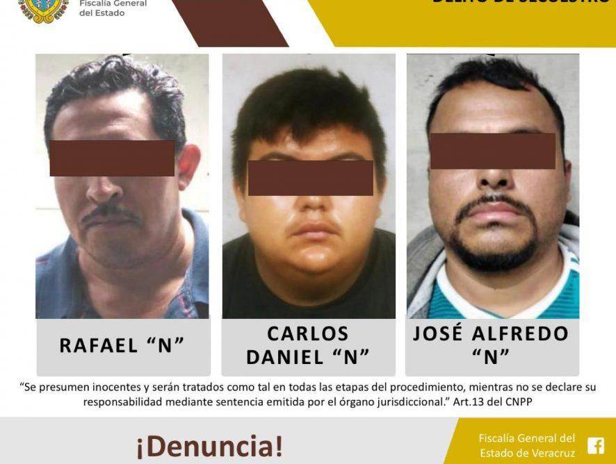 UECS detiene y vincula a proceso a banda de secuestradores