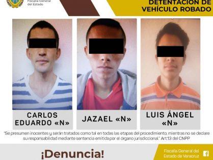 Los vinculan a proceso por ultrajes a la autoridad y posesión de vehículo robado