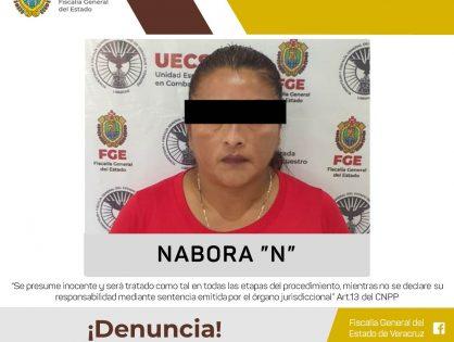 La detienen por secuestro en Coatzacoalcos