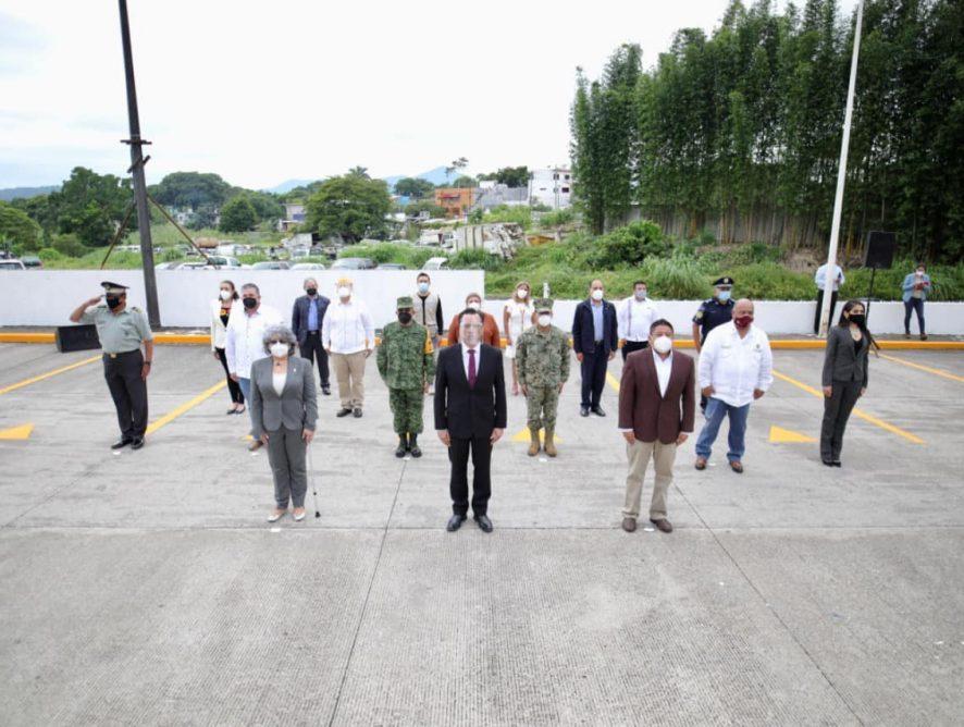 Participación de la FGE en el acto solemne en honor a los fallecimientos en México por COVID19