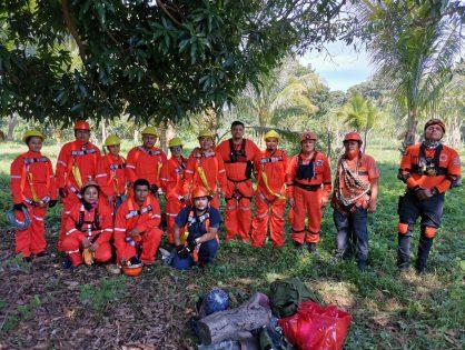 Capacita Escuadrón Nacional de Rescate a peritos de FGE