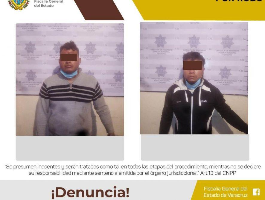 Por robo los vincula Juez a proceso en Coatepec
