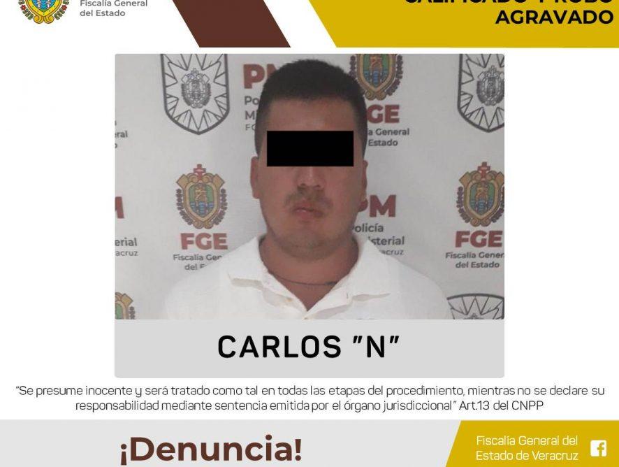 Obtiene Fiscalía Regional Córdoba vinculación a proceso por homicidio doloso calificado y robo agravado