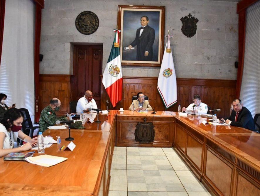 Mesa estatal para la Coordinación de la Construcción de la Paz