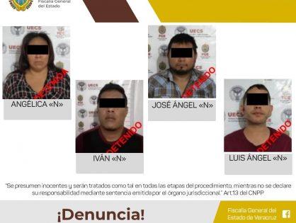 Detiene UECS a cuatro probables secuestradores
