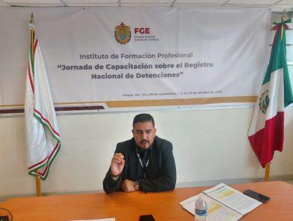 Concluye con éxito capacitación sobre Registro Nacional de Detenciones