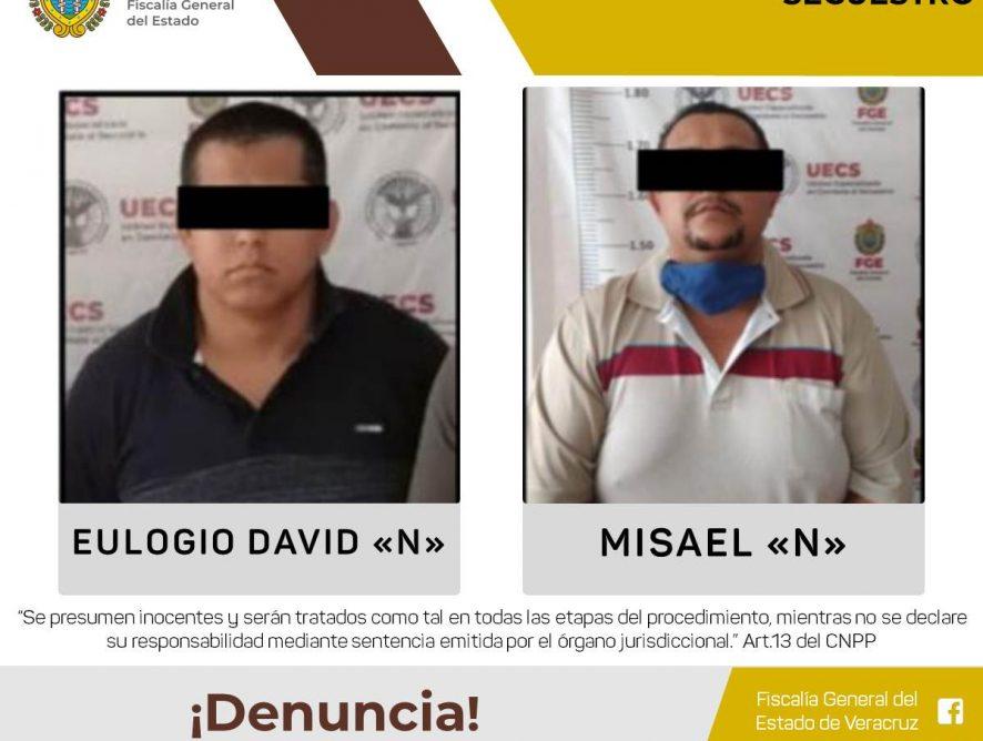 Detenidos y en prisión preventiva dos presuntos secuestradores UECS se coordinó con Agencia de Investigación Criminal de FGR para la captura