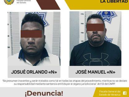 Procede Fiscalía contra dos personas por privación ilegal de la libertad