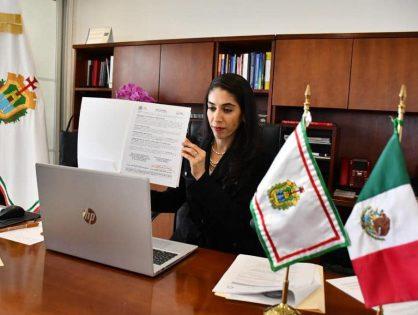 Verónica Hernández participa en Conferencia Nacional de Procuración de Justicia Zona SuresteFirma acuerdo con FGR para atender delitos electorales