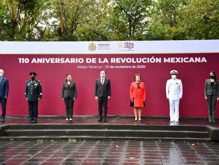 Participa Fiscal General en ceremonia conmemorativa por el 110 Aniversario de la Revolución Mexicana