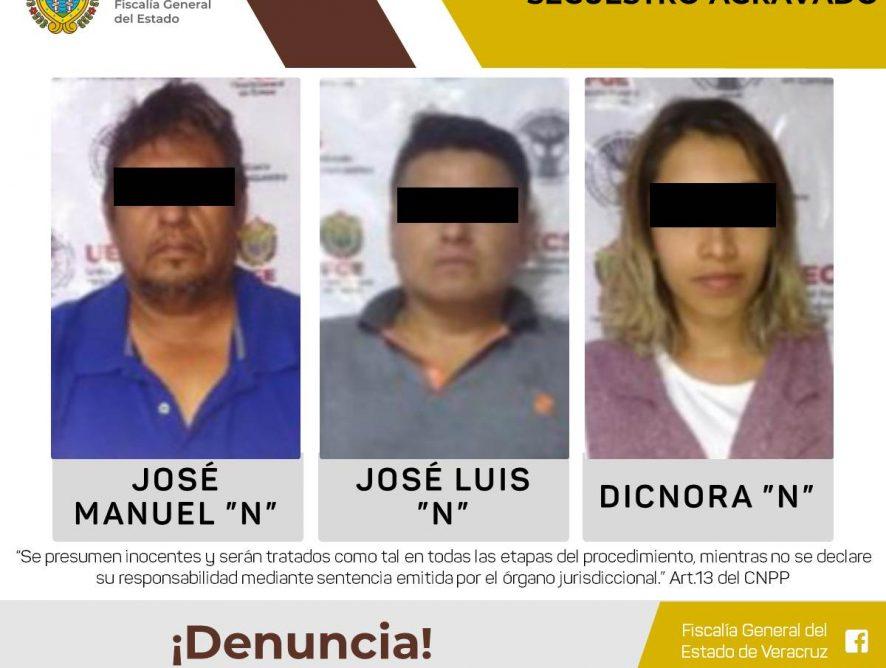 Es ejecutada orden de aprehensión contra tres presuntos secuestradores