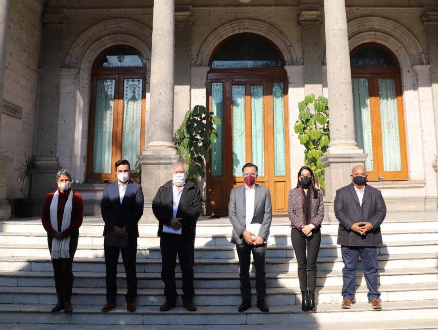 Verónica Hernández comparte temas de procuración de justicia, derechos humanos y búsqueda de personas en Secretaría de Gobernación