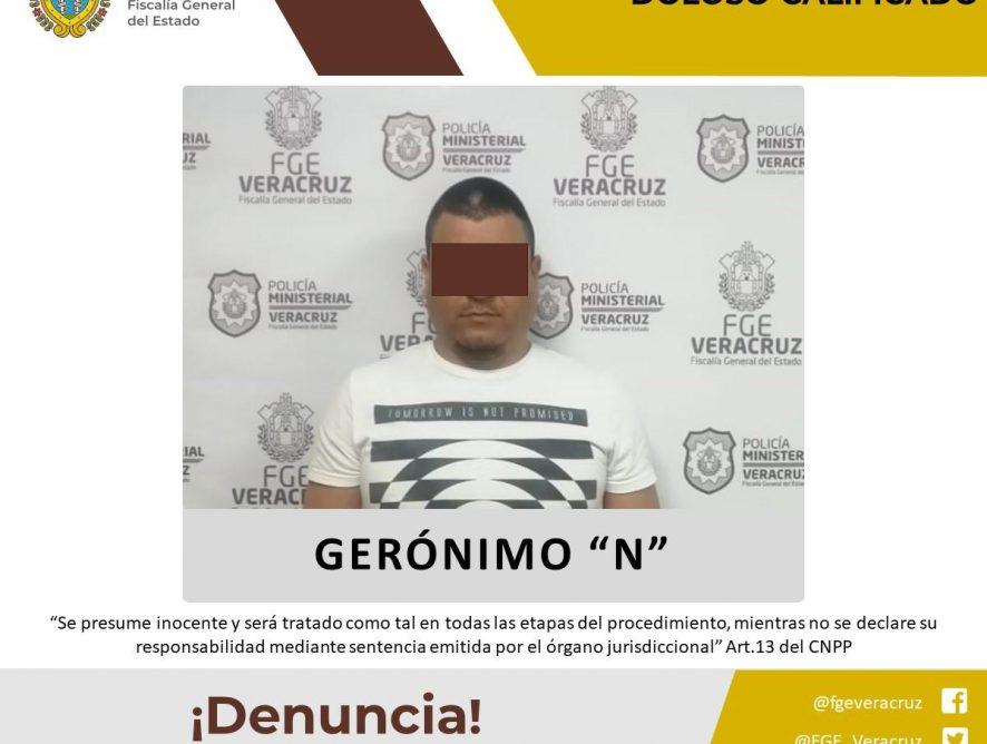 Detiene Policía Ministerial a probable homicida en Amatlán de los Reyes