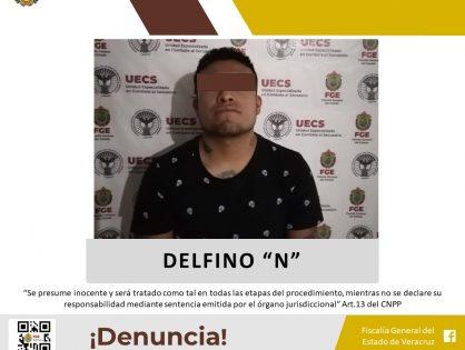 Por secuestro lo detiene UECS en Tehuipango