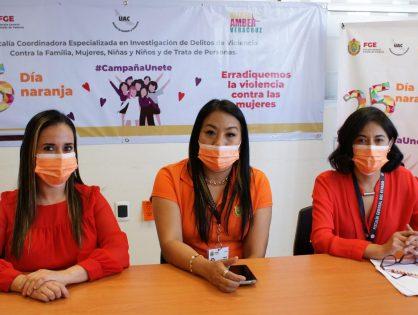 Refuerza Fiscalía acciones para prevenir la violencia contra las niñas, adolescentes y mujeres en Veracruz