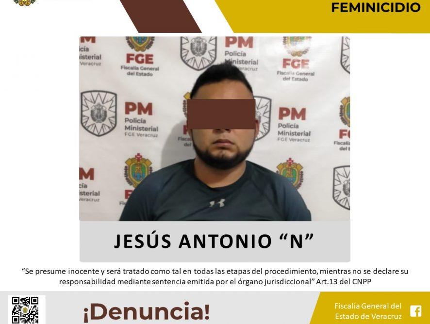Probable feminicida de Hueyapan de Ocampo es vinculado a proceso