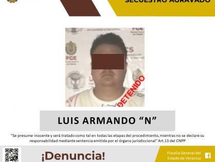 Detiene UECS a presunto secuestrador en Puebla