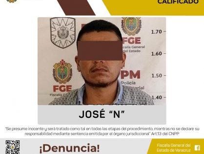 Probable homicida es vinculado a proceso en Papantla