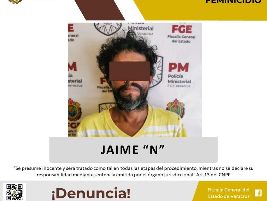 Por feminicidio lo detiene Policía Ministerial en la zona centro